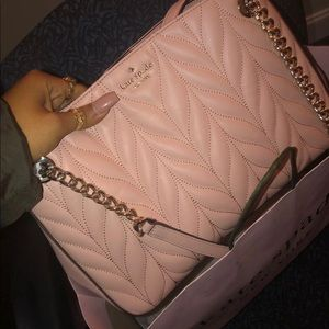 Briar lane quilted rosy cheeks purse